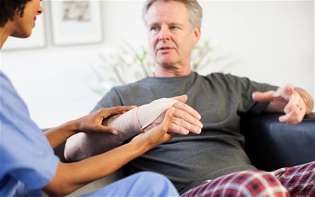 supporting personal injury victim