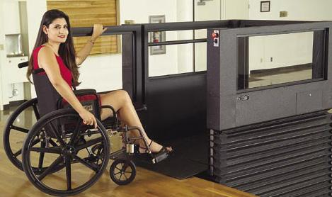 outdoor wheelchair lifts
