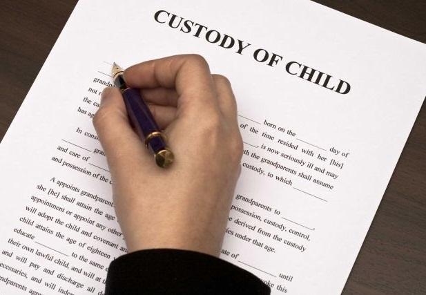financial child custody