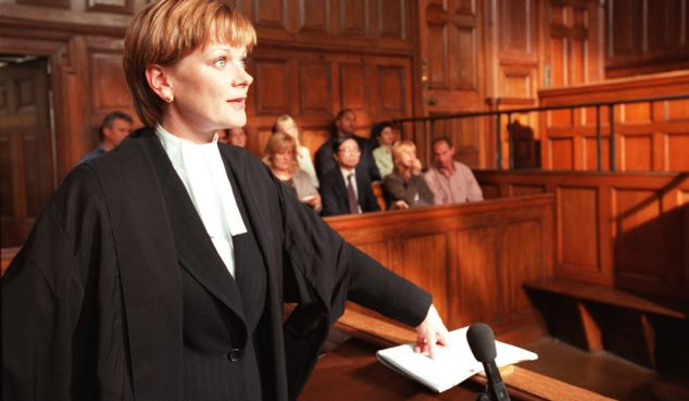 lawyers and in court